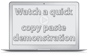 Copy Paste Software Video Demonstration