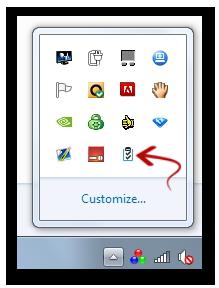 Copy Paste Software Tray Icon