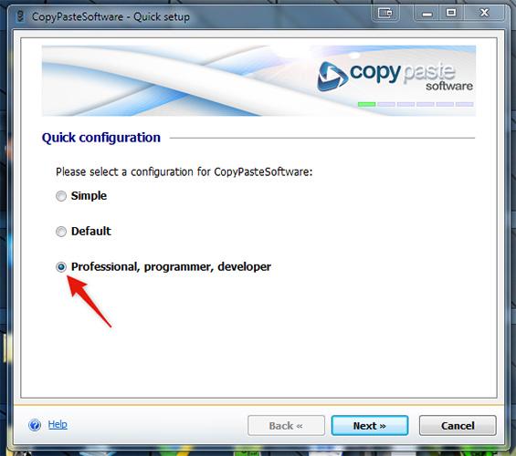 Restart Configuration Wizard Screenshot